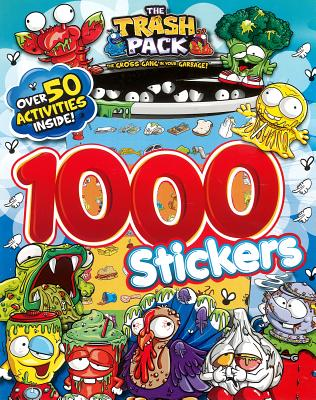 Trash Pack 1000 Stickers - Parragon