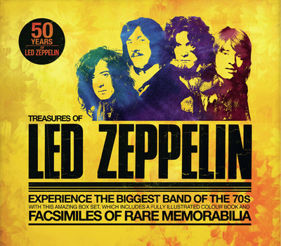 Treasures of Led Zeppelin: Experience the Biggest Band of the 70s - Welch, Chris