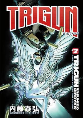 Trigun Anime Manga Volume 2: Wolfwood - Nightow, Yasuhiro