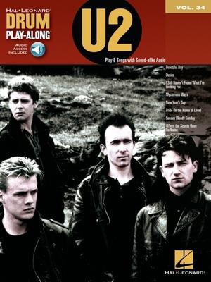 U2: Drum Play-Along Volume 34 - U2