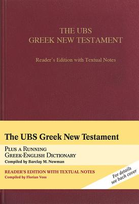 UBS Greek New Testament-FL-Reader's - Voss, Florian (Compiled by), and Newman, Barclay M, Jr. (Compiled by)