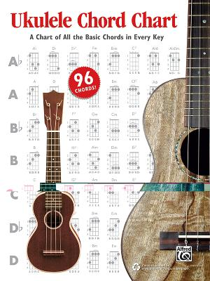 Ukulele Chord Chart: A Chart of All the Basic Chords in Every Key - Manus, Ron, and Harnsberger, L C, and Gunod, Nathaniel