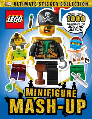 Ultimate Sticker Collection: Lego Minifigure: MASH-Up! - DK