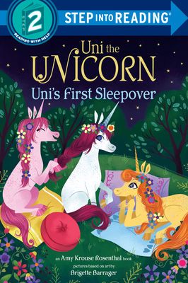 Uni the Unicorn Uni's First Sleepover - Rosenthal, Amy Krouse