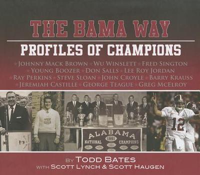 University of Alabama Profiles of Champions - Lynch, Scott
