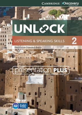 Unlock Level 2 Listening and Speaking Skills Presentation Plus DVD-ROM - Dimond-Bayir, Stephanie