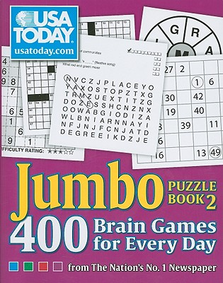 USA Today Jumbo Puzzle Book 2, 11: 400 Brain Games for Every Day - Usa Today