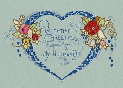 Valentine's Greetings to My Husband Greeting Card - Laughing Elephant (Creator)