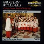 Vaughan Williams: Shakespeare Songs; Mass in Gm - David Le Monnier (vocals); Iain Simcock (organ); Ian Barratt (vocals); Jonathan Freeman-Attwood (trumpet);...