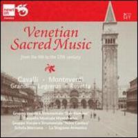 Venetian Sacred Music from the 9th to 17th century - Chorus sine nomine; La Stagione Armonica; Nova Cantica; Schola Marciana; Cappella Musicale Monteberico (choir, chorus)