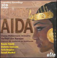 Verdi: Aida - Arnold van Mill (vocals); Carlo Bergonzi (vocals); Cornell MacNeil (vocals); Eugenia Ratti (vocals);...