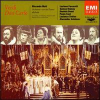 Verdi: Don Carlo - Aldo Bramante (vocals); Alexander Anissimov (vocals); Andrea Silvestrelli (vocals); Daniela Dessì (vocals); Enrico Turco (vocals); Ernesto Panariello (vocals); Giacomo Prestia (vocals); Giorgio Giuseppini (vocals); Luciana D'Intino (vocals)