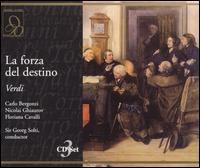 Verdi: La forza del destino - Carlo Bergonzi (tenor); David Kelly (vocals); Floriana Cavalli (soprano); Forbes Robinson (vocals); John Dobson (vocals);...
