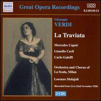 Verdi: La Traviata - Aristide Baracchi (vocals); Carlo Galeffi (vocals); Giuseppe Nessi (vocals); Lionello Cecil (vocals);...
