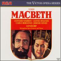 Verdi: Macbeth - Calvin Marsh (baritone); Carlo Bergonzi (tenor); Carlotta Ordassy (soprano); Emilia Cundari (soprano);...