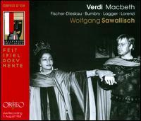 Verdi: Macbeth - Alois Pernerstorfer (vocals); Bozena Ruk-Focic (vocals); Dietrich Fischer-Dieskau (vocals); Ermanno Lorenzi (vocals);...