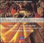 Verdi: Messa solenne - Cristina Gallardo-Domâs (soprano); Eldar Aliev (bass); Elisabetta Scano (soprano); Juan Diego Flórez (tenor);...