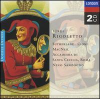 Verdi: Rigoletto - Cioni (vocals); Accademia di Santa Cecilia Orchestra; Nino Sanzogno (conductor)