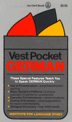 Vest Pocket German - Cortina Institute of Languages, and Regensteiner, Henry