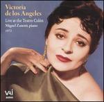 Victoria de los Angeles Live at the Teatro Colón