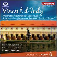 Vincent d'Indy: Orchestral Works, Vol. 6 - Bryndis Halla Gylfadottir (cello); Iceland Symphony Orchestra; Rumon Gamba (conductor)
