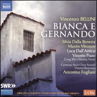 Vincenzo Bellini: Bianca e Gernando - Gheorghe Vlad (tenor); Luca Dall'Amico (bass); Mar Campo (mezzo-soprano); Marina Viotti (mezzo-soprano);...