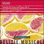 Viotti: Sonatas for Violin & Piano, Op. 4