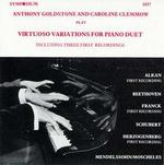 Virtuoso Variations for Piano Duet