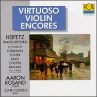 Virtuoso Violin Encores - Aaron Rosand (violin); John Covelli (piano)