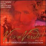 Viva Verdi! A 100th Anniversary Celebration