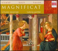 Vivaldi, Bach, Hasse: Magnificat - Andrea Ihle (soprano); Annette Markert (contralto); Annette Markert (alto); Ars Vocalis; Bernd Haubold (double bass);...