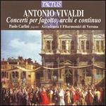 Vivaldi: Concerti for bassoon, strings & continuo