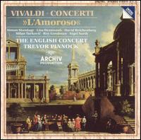"Vivaldi: Concerti ""L'Amoroso"" - David Reichenberg (oboe); English Consort; Jaap ter Linden (cello); Lisa Beznosiuk (flute); Micaela Comberti (violin);..."