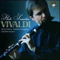 Vivaldi: Flute Sonatas - ConSerto Musico; Francesco Baroni (harpsichord); Roberto Loreggian (organ); Roberto Loreggian (harpsichord);...