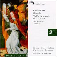 Vivaldi: Gloria; Motets; Cantatas - Academy of Ancient Music; Carolyn Watkinson (contralto); Catherine Bott (soprano); Catherine Mackintosh (violin);...