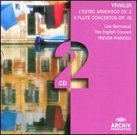 Vivaldi: L'estro Armonico, Op. 3; Flute Concertos, Op. 10 - Amanda MacNamara (double bass); Christopher Poffley (cello); Elizabeth Wilcock (violin); English Consort;...