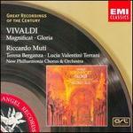 Vivaldi: Magnificat; Gloria - Leslie Pearson (organ); Leslie Pearson (harpsichord); Lucia Valentini Terrani (contralto); Norman Jones (cello);...