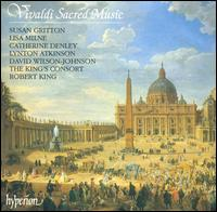 Vivaldi Sacred Music, 1 - Catherine Denley (alto); David Wilson-Johnson (bass); Lisa Milne (soprano); Lynton Atkinson (tenor); Susan Gritton (soprano);...
