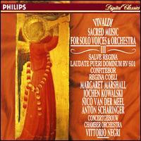 Vivaldi: Sacred Music for solo voice & orchestra, Vol. 3 - Anton Scharinger (bass); Jacques Ogg (organ); Jochen Kowalski (alto); John Constable (organ); Margaret Marshall (soprano); Nico van der Meel (tenor); Raphael Alpermann (organ); Royal Concertgebouw Chamber Orchestra; Vittorio Negri (conductor)