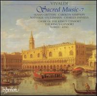 Vivaldi: Sacred Music, Vol. 7 - Carolyn Sampson (soprano); Charles Daniels (tenor); Nathalie Stutzmann (contralto); Susan Gritton (soprano);...