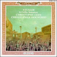 Vivaldi: Six Cello Sonatas - Ageet Zweistra (cello); Christophe Coin (cello); Christopher Hogwood (harpsichord); Eugene Ferre (baroque guitar); Tom Finucane (archlute)