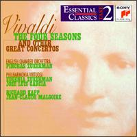Vivaldi: The Four Seasons and Other Great Concertos - Axel Schroter (cello); Benjamin Hudson (violin); Carl Philipp Emanuel Bach Chamber Orchestra; Charles Tunnell (cello);...