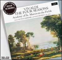 Vivaldi: The Four Seasons - Alan Loveday (violin); Celia Nicklin (oboe); Christopher Hogwood (organ); Christopher Hogwood (harpsichord); Colin Tilney (organ); Colin Tilney (harpsichord); Kenneth Heath (cello); Martin Gatt (bassoon); Neil Black (oboe); Simon Preston (harpsichord)
