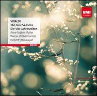 Vivaldi: The Four Seasons - Anne-Sophie Mutter (violin); Herbert von Karajan (harpsichord); William Tim Read (harpsichord); Wiener Philharmoniker;...