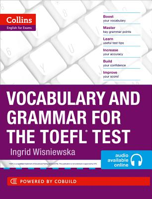 Vocabulary and Grammar for the TOEFL Test - Wisniewska, Ingrid