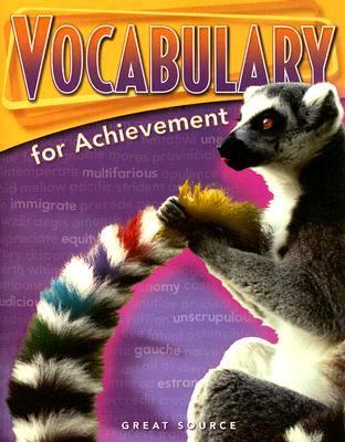 Vocabulary for Achievement Fourth Course - Richek, Margaret Ann