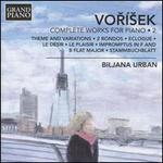 Vorisek: Complete Works for Piano, Vol. 2
