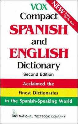 Vox Compact Spanish and English Dictionary - National Textbook Company