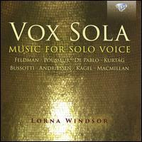 Vox Sola: Music for Solo Voice - Lorna Windsor (soprano)