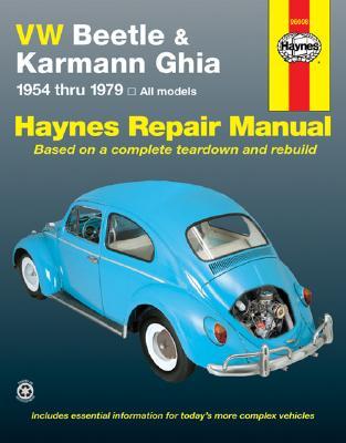 VW Beetle 1200 and Karmann Ghia 1954-1979 - Haynes, John